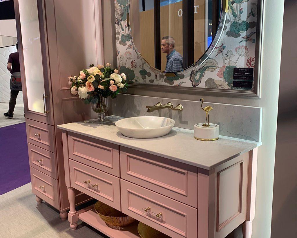 Blush Yorktowne Cabinets