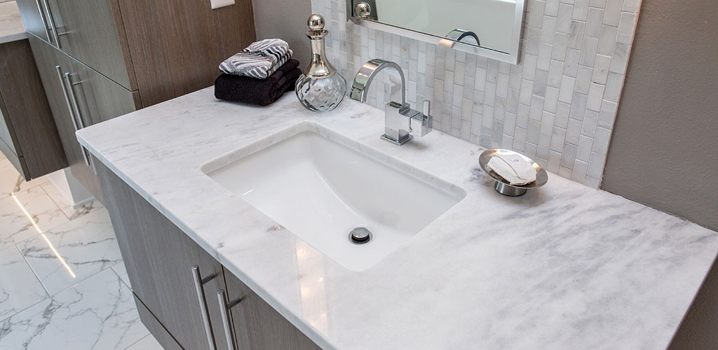 Quartzite marble vanity countertops